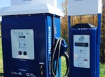 The 400 volts and 240 volts public charging stations from the Electric Circuit.