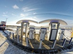 The first universal superstation offers 4 fast-charging stations.