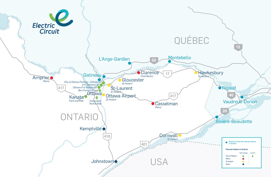The Electric Circuit Rolls Into Ontario Hydro Quebec